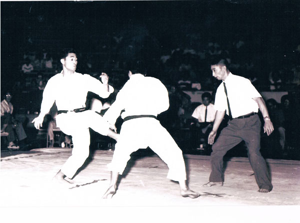 1969 Get appointed as Chief Instructor of Karate Association of Hawaii<