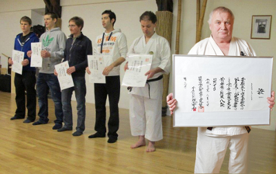 Big Success at European Main Dojo Opening Ceremony